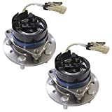Brand New DRIVESTAR 513137x2 Pair:2 New Front Wheel Hub & Bearing fits Chevy Olds Pontiac w/ ABS