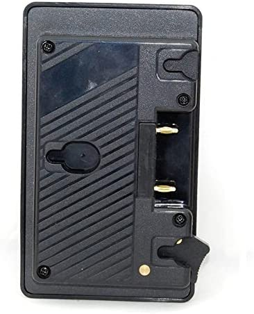 EVERYDI New Gold Mount to V Mount Battery Adapter Plate Converter with D-tap Port