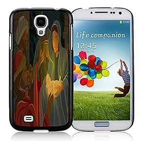 linJUN FENGCustomized Portfolio Samsung S4 TPU Protective Skin Cover Jesus christmas Black Samsung Galaxy S4 i9500 Case 1