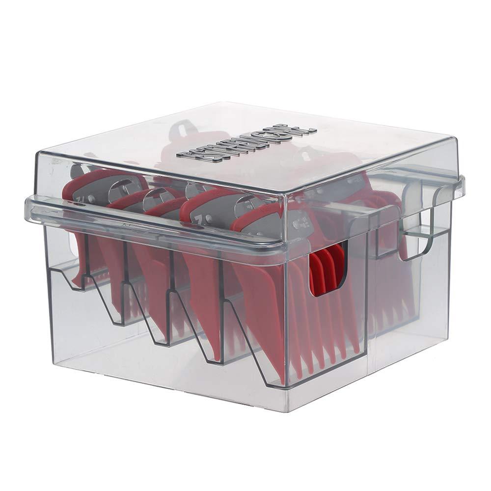 Plastic Blade Organizer for 8 Blades Storage Case Rack Clipper Comb Holder