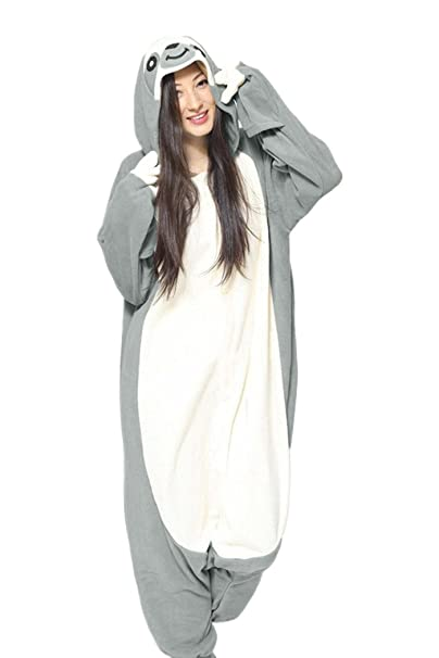 5ed392fcbf32 dressfan Animal Mono Perezoso Ropa de Dormir Pijamas Adultos Unisex Polar  Polar Cosplay Traje: Amazon.es: Ropa y accesorios