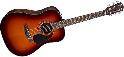 Fender guitarra acústica DG-60 Sunburst: Amazon.es: Instrumentos ...