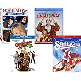 Kids Christmas Family Blu ray Collection - Home Alone / The Santa Claus / A Christmas Story / Jingle All the Way
