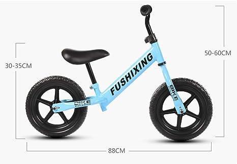 XUE Bicicleta de Equilibrio, Ajustable niño Corriendo Ruedas de ...
