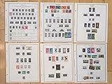 K54 New Zealand Western Samoa Tokelau Pacific Islands Stamps Minkus Blank Pages