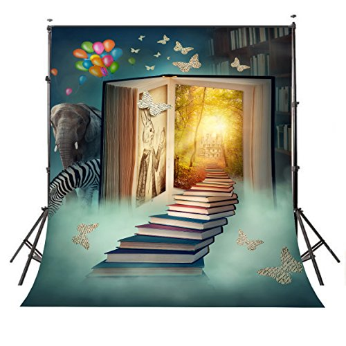 Package :  1x Photography Background Cloth ( Folding )  Picture: Fairy Tale World  Feature: Product performance- - - Light weight, easy to fold,store and carry, can be used as a gift to family,friends. Material Appearance - - -Upgraded polyester fibe...
