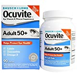 Bausch & Lomb Ocuvite, Eye Vitamin & Mineral Supplement, Adult 50+, 90 Soft Gels - 3PC