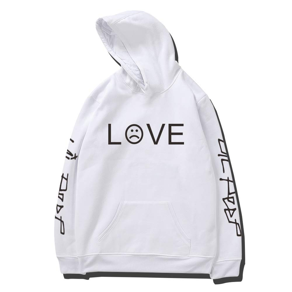 wangxiyan Lil Peep R.I.P. Love Printed Men/Women Fashion Sport Hip Hop Hoodie Sweatshirt Casual Pocket Long Sleeve Thin Fleece Hoodies Pullovers Coat Tops Outdoor
