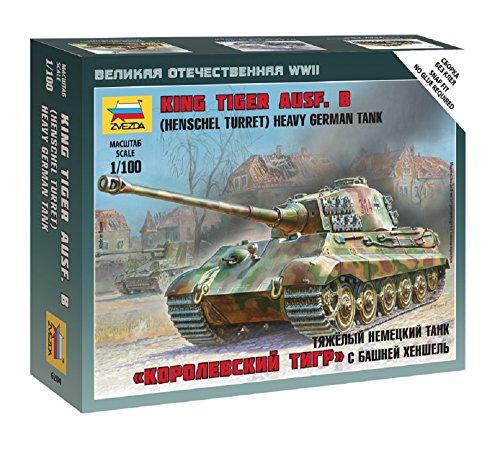 King Tiger Heavy Tank - 1/100 German Heavy Tank King Tiger Henschel