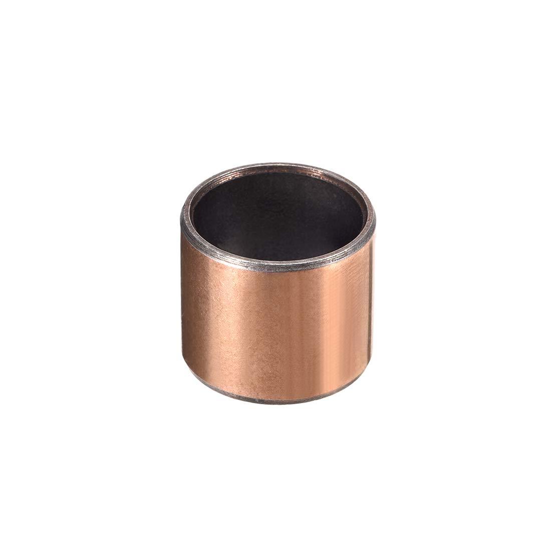 uxcell/® Sleeve Bearing 3//4 Bore x 7//8 OD x 3//4 Length Plain Bearings Wrapped Oilless Bushings