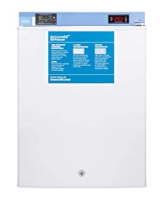 Summit FS30LMED2 Accucold MED2 19 Inch Wide 1.8 Cu. Ft. Free Standing Medical Freezer with Digital Display and Door Lock