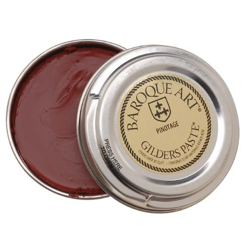 Baroque Art Gilders Paste - Highlight Metal, Wood and More! 'Pinotage' Red by Baroque Art