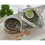 Artisano Designs Cute As A Button Cookie Cutter