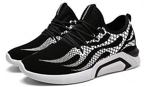 Ben Sports Herren Sneaker Trail Turnschuhe Laufschuhe für Herren H-Weiß