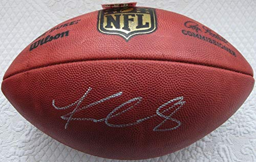 phed Signed Authentic NFL The Duke Game Football Memorabilia PSA/DNA Loa ()