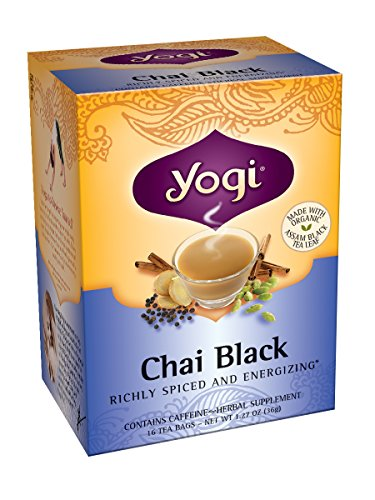 Yogi Teas Chai Black, 16 Count (Pack of 6)