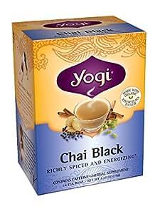 Yogi Teas Chai Black, 16 Count (Pack of 6)