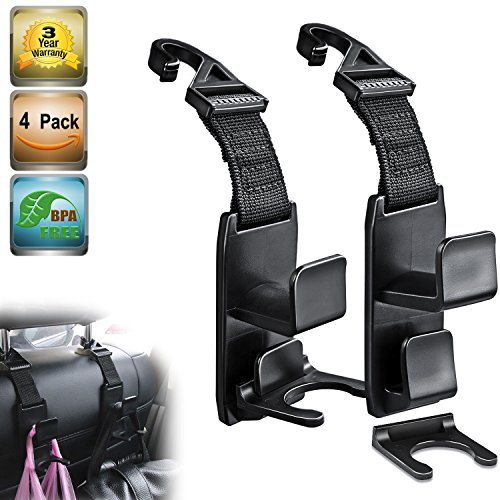 Heroway Magic Headrest Hooks
