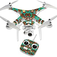Skin For DJI Phantom 3 Standard – Crazy Tikis | MightySkins Protective, Durable, and Unique Vinyl Decal wrap cover | Easy To Apply, Remove, and Change Styles | Made in the USA