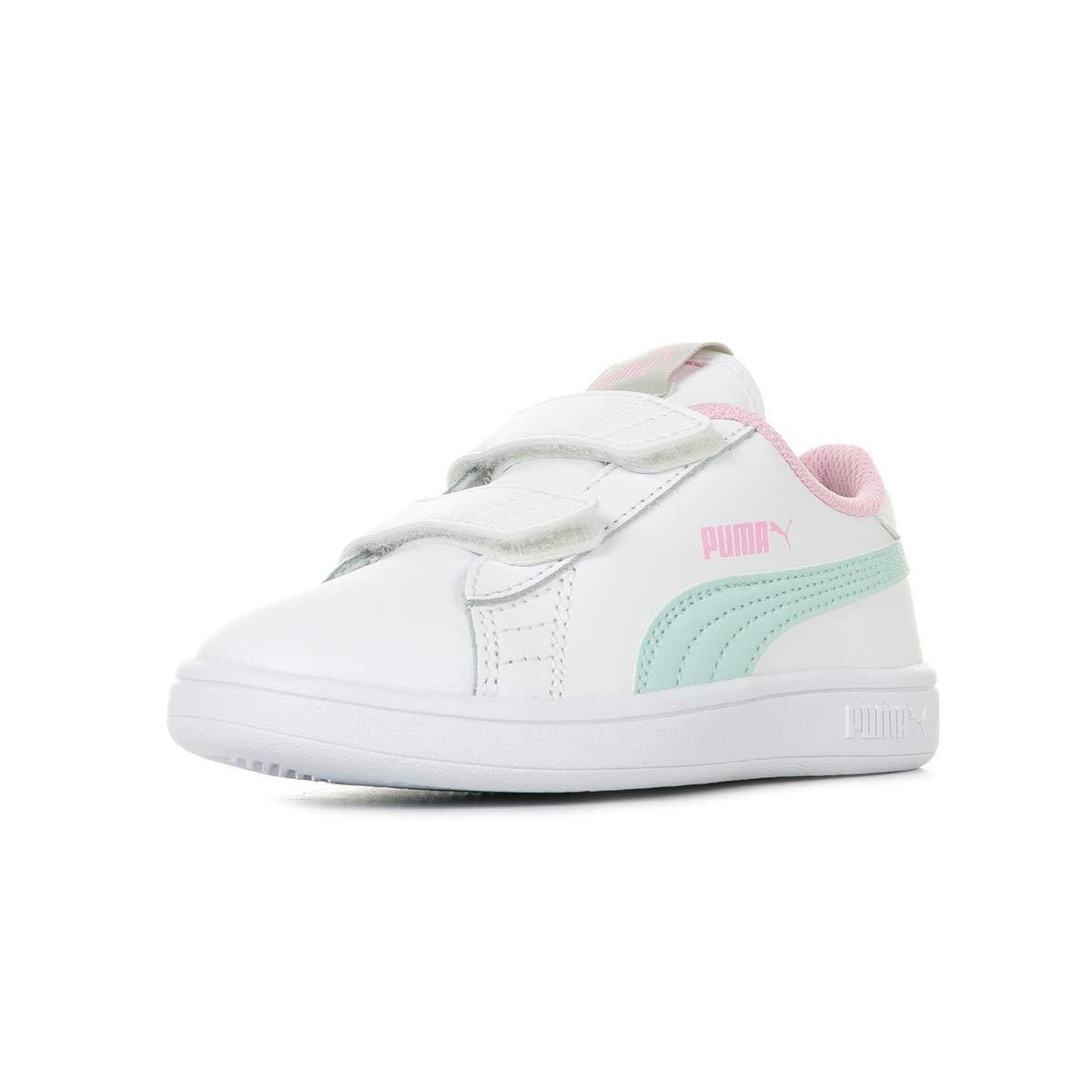 Puma Smash V2 L V PS, Sneakers Basses Mixte Enfant