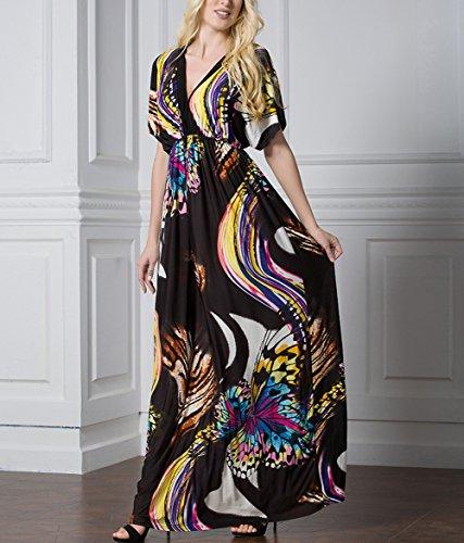 CoutureBridal -  Vestito  - linea ad a - Donna multicolore Color 2 XL