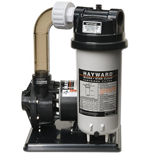 Hayward C2251540LSS Micro Star Clear Pool Filter System by Hayward