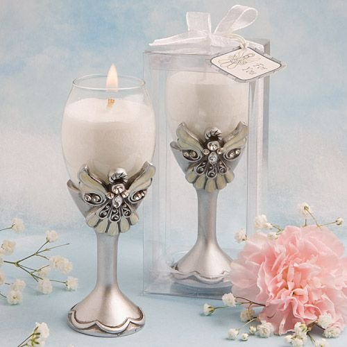 Angel Design Champagne Flute Candle Holders , 72