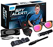 Kid Labsters Spy Alert Kit - Pro Detective Spying Gadget w/ Hearing & Detector - Pretend Secret Agent &