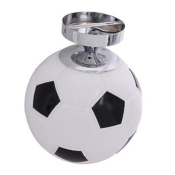 D Dolity Fussball Design E27 Deckenleuchte Kinder