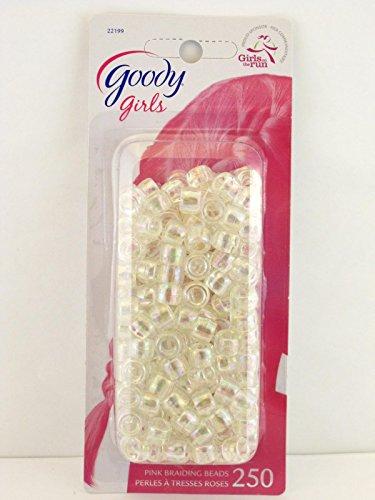 Goody Girls Small Clear Braiding Beads -  250 Pcs.]()