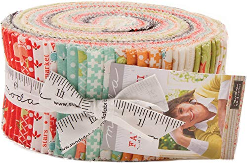 Farmhouse II Jelly Roll 40 2.5-inch Strips by Fig Tree Quilts for Moda Fabrics 20320JR