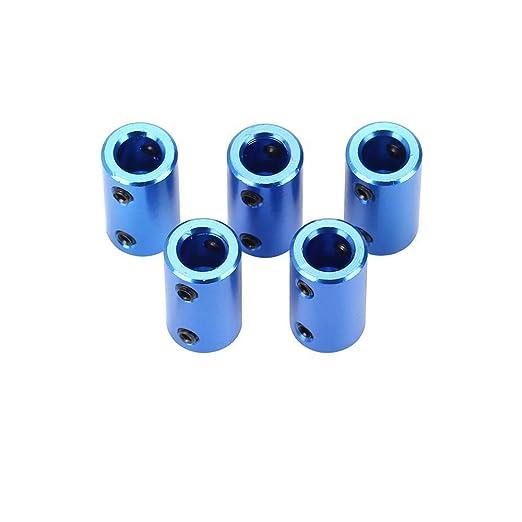 Wellenkupplung 3,17mm auf 4mm Bohrung L26xD10 Robot Motor Wheel Kupplungsverbinder starr mit Sechskantschl/üssel