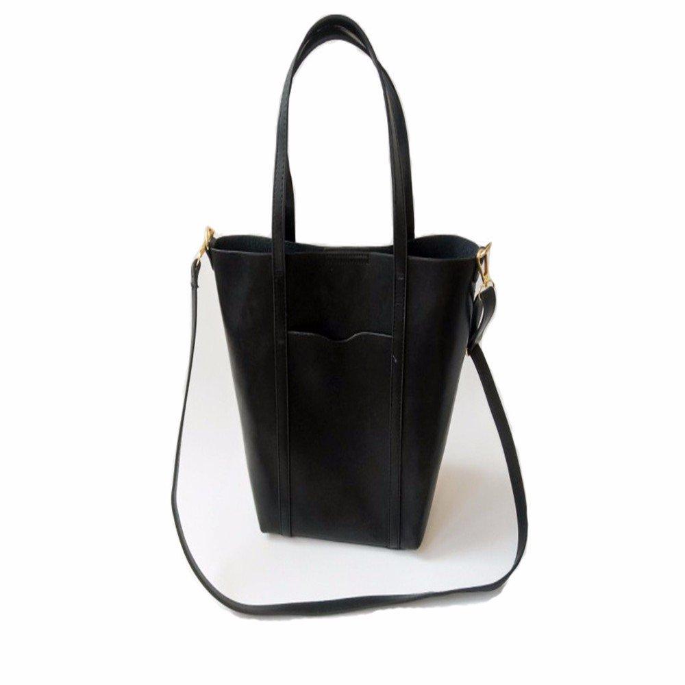 GAOQIANGFENG Womens handbag ttoon bag handbag,black