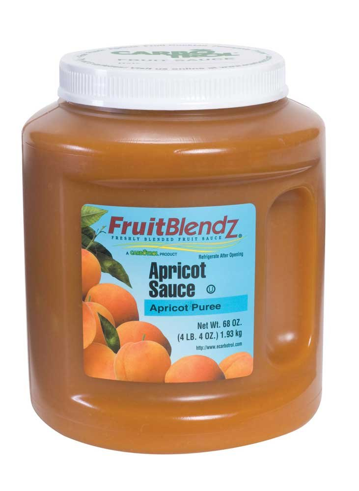 Carbotrol Apricot Sauce 6 Case 68 Ounce by Leahy IFP (Image #1)