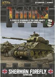 Tanks: British Sherman Firefly Tank Expansión (plástico) - Escala 1/100: Amazon.es: Juguetes y juegos