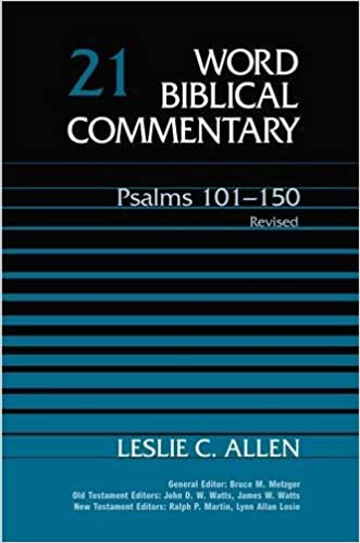 Book PSALMS 101 150 REV ED HB: v. 21 (Word Biblical Commentary)
