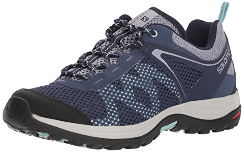Crown Blau Blue amp; Damen Blue Blue Beige Ellipse Trekking Mehari Salomon Canal Wanderhalbschuhe 000 Evening 804wx