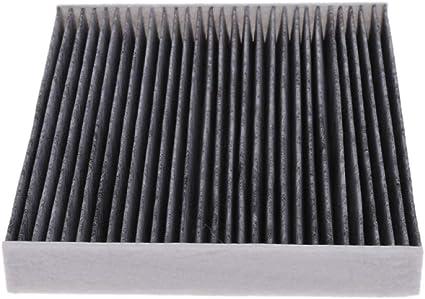suoryisrty Filtro Aria abitacolo Fibra di Carbonio 87139-50060 ADT32514 per Toyota Camry RAV4 Yaris