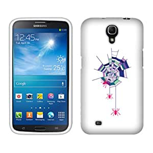 Fincibo (TM) Protector Cover Case Snap On Hard Plastic Front And Back For Samsung Galaxy Mega 6.3 I9200 I9205 I527 - Spider