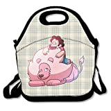 Steven Universe Lunch Bag Lunch Boxes, Waterproof Outdoor Travel Picnic Lunch Box Bag Tote With Zipper And Adjustable Crossbody Strap