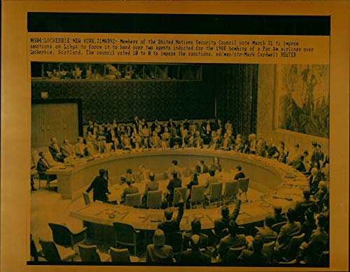 Vintage photo of Members of United Nations Security Council. ()