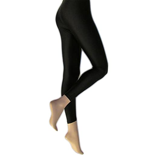 Silky Womens Ladies Shimmer Look Fashion Leggings 1 Pair At Amazon
