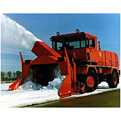 1993 RPM Tech P5000 Snowblower Truck Photo Poster