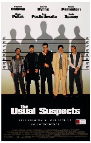 The Usual Suspects Poster Movie D 11x17 Kevin Spacey Gabriel Byrne Chazz Palminteri Kevin Pollak