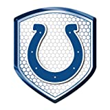 Indianapolis Colts Car Truck SUV Motorcycle Bicycle Mailbox Trunk 3D Emblem Color Shield Reflector