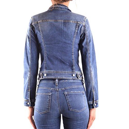 Meltin'Pot - Jacke JUSTINE D0134-UH220 für frau, jeans-stil, slim fit, langarm Blau