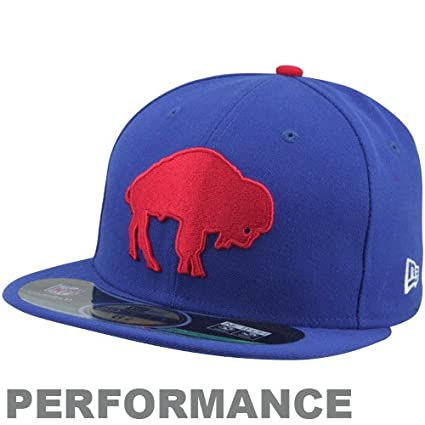 new arrival 1d963 3dfc0 Men s New Era Buffalo Bills On Field Classic 59FIFTY  Football Structured Fitted  Hat 6 7