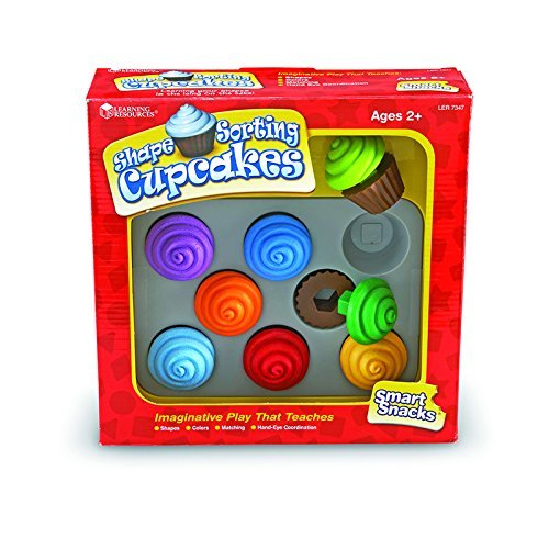 Learning Resources Smart Snacks Shape Sorting Cupcakes LER7347 3  B00QFX9STK