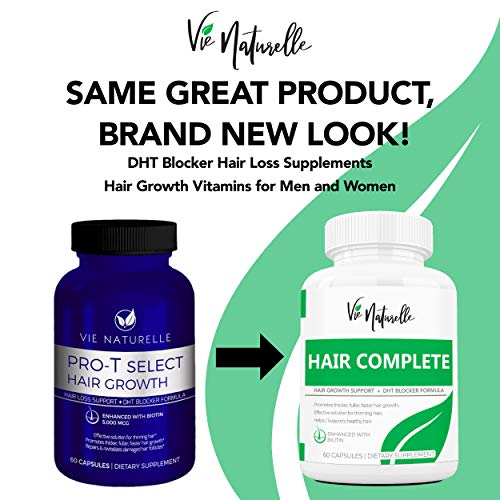 DHT Blocker Pills & Hair Supplement - Hair Growth Vitamins for Women & Men - Hair Loss Treatments for Women with Saw Palmetto