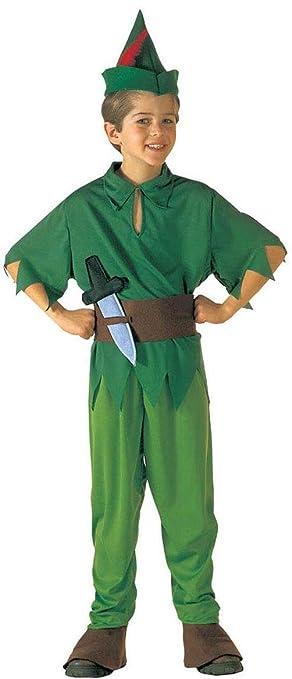 Childrenu0027s Little Peter Child 128cm Costume for Neverland Fairytale Fancy Dress  sc 1 st  Amazon UK & Childrenu0027s Little Peter Child 128cm Costume for Neverland Fairytale ...
